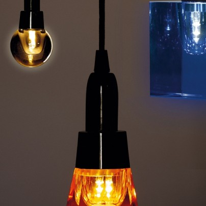 Crystaled LED bulb
