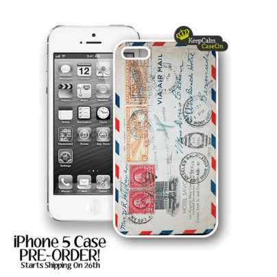Retro Envelope iPhone 5 Case