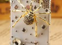 iphone 4 case Diamond Spider