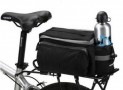 Black Multi-functional Bicycle Rear Seat Trunk Bag