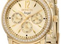 85% Discount: Invicta Women's 18k Gold Ion-Plated Stainless Steel Watch