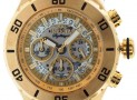 86% discount: invicta White Dial Gold-tone Mens Watch