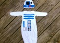 Baby Robot Bunting