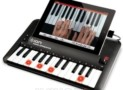 portable piano learning system