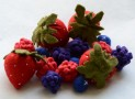 Felt Food Berries
