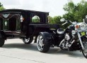Harley-Davidson Hearse 'macho' final goodbye