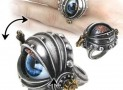 Steampunk Automaton's Eye of Ezekiel Rosenstein Gothic Ring