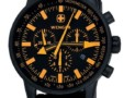 Wenger Men's Black Rubber Strap Watch