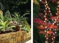 Set of 35 LED Timer Plant Illuminating Garden Lights
