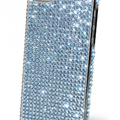 iPhone5 Anti Shock Swarovski Cubic Hard Case Cover