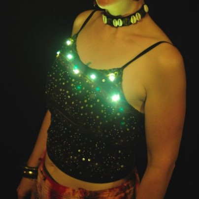 LED tank top
