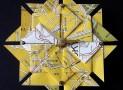 Tokyo Street Map Origami Clock