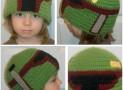 Boba Fett (or Jango Fett) Crochet Hat