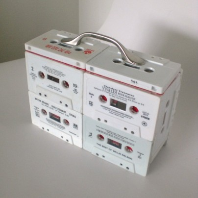Cassette Tape Jewelry Case / Organizer