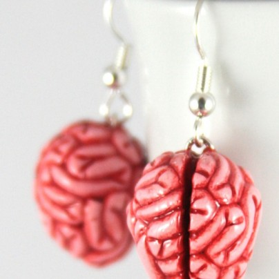 Brains Earrings