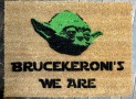 Star Wars Yoda doormat welcome you are mat
