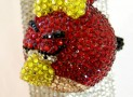 Angry Bird with crystal Iphone case