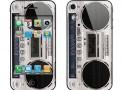 iPhone 4S Skin Boombox