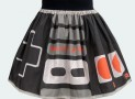 Retro Video Game Controller Full Skirt