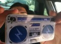 Iphone 4 cover – Ghetto Blaster