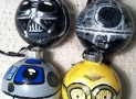 Star Wars Glass Ornament set