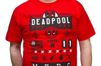 Deadpool Street Icons Tee