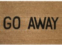 Go Away Doormat