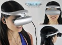 Video Glasses with 36 Inch Virtual Display