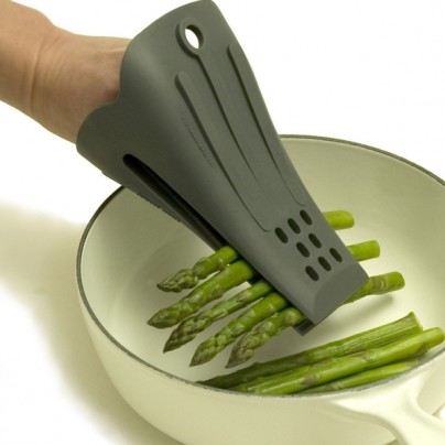 Fingertongs 7-inch Silicone Wearable Cooking Tongs