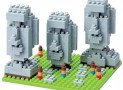 Nano Blocks Easter Island