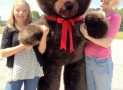 Giant 6-Foot Teddy Bear