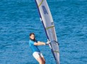 The Inflatable Windsurfer And Sailboat