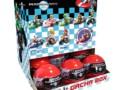 Nintendo Mario Kart Wii Pull Back Racers Display Box