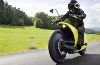 first e-motorcycle to reach 200km range