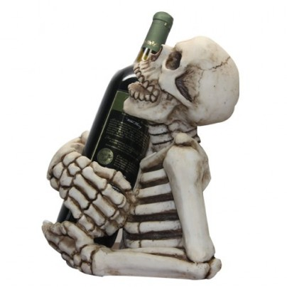 Skeleton Decorative Wine Bottle Holder Rack