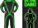 Glowman Men's Glow Costume Adult Small