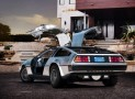 All-Electric DeLorean Car