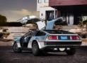All-Electric DeLorean Car