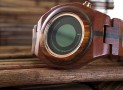 Kisai Maru Wood LCD Watch