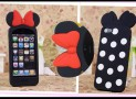 3D Mouse Bow iPhone 5 Disney Case