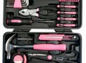 Apollo Precision Tools 39-Piece Pink General Tool Set