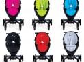 High-tech folding stroller