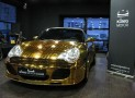 Gold Plated Porsche 996 Turbo Cabriolet from Russia