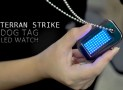 Dog Tag LED Watch