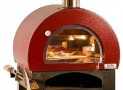 Wood Fired Pizza Oven Red