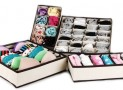 Dividers Closet Organizers Bra Underwear Storage Boxes