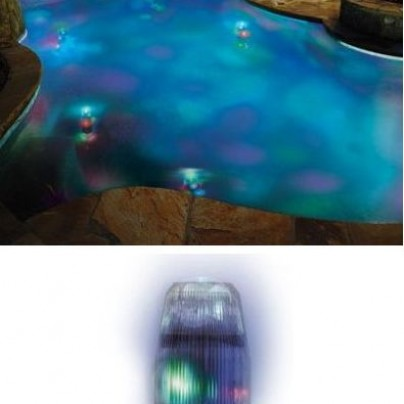Motion Color Pool Light