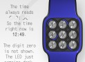 Kyuuen LED watch dials your number