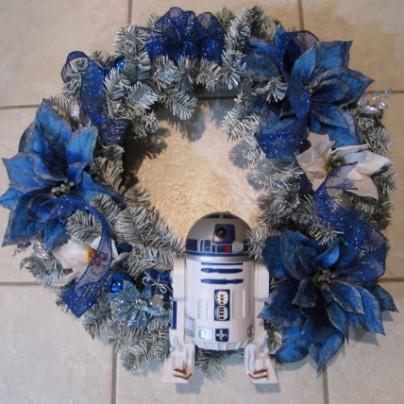 R2D2 Star Wars Handmade Wreath