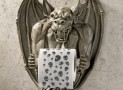 the Gargoyle Bathroom Tissue Holder